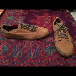 Reef brown suede sneakers boho hippie size 10